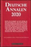 Deutsche Annalen 2020