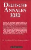 Neuerscheinung: Deutsche Annalen 2020